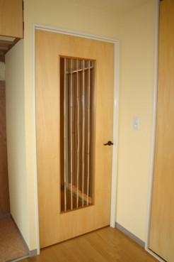 女竹のドア