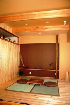 自然素材意匠企画屋モデルルーム